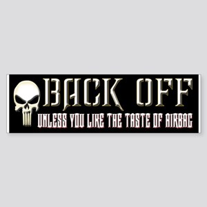 Back Off Sticker (Bumper)